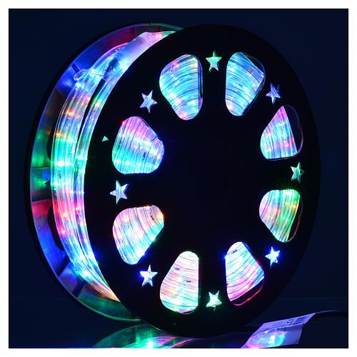Luce natalizie tubo lux 50 metri per esterno multicolor 2