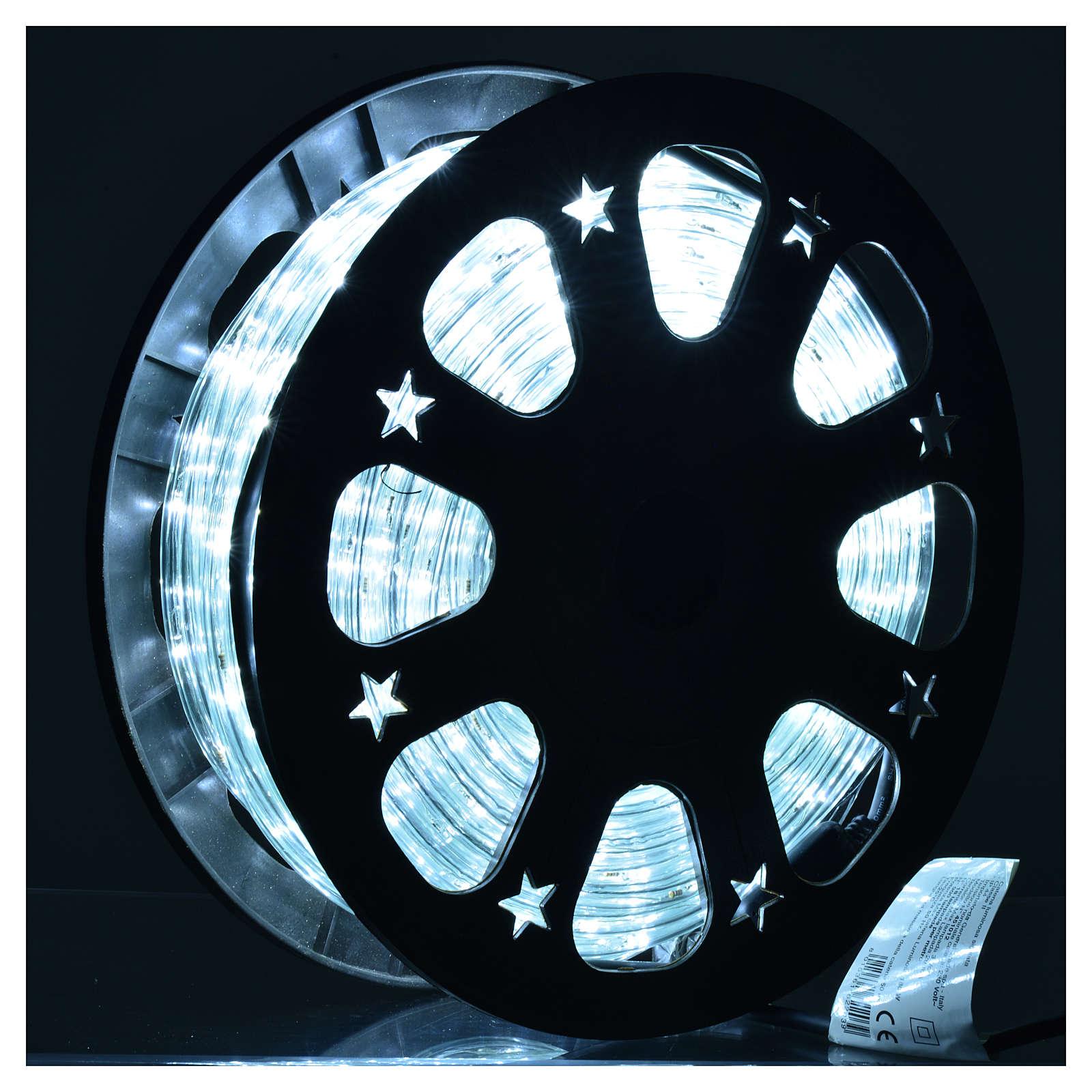 Luce natalizie tubo lux 50 metri per esterno luce ghiaccio 3