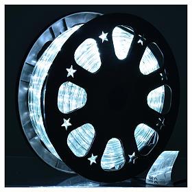 Luce natalizie tubo lux 50 metri per esterno luce ghiaccio s2