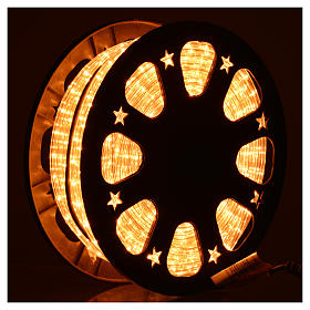 Luce natalizie tubo lux 50 metri per esterno luce chiara s2