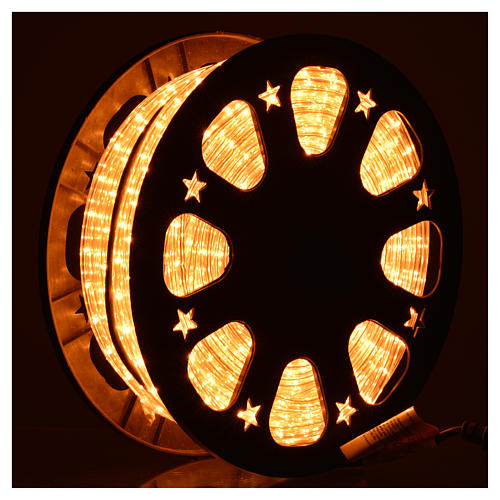 Luce natalizie tubo lux 50 metri per esterno luce chiara 2