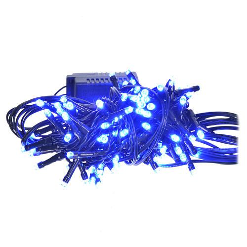 Luce natalizia 96 led programmabili blu interno/esterno 1