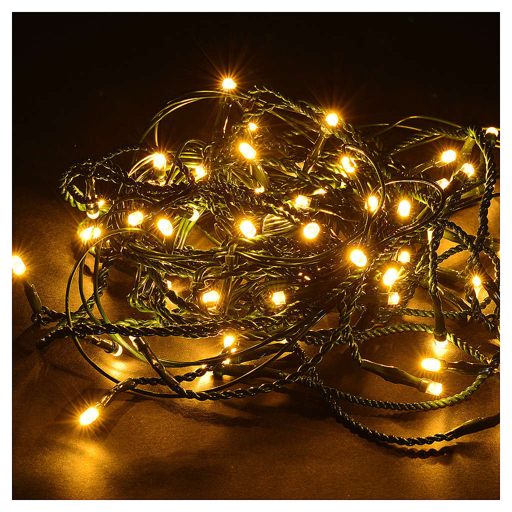 christmas lights led curtain 60 led warm white programmable 3