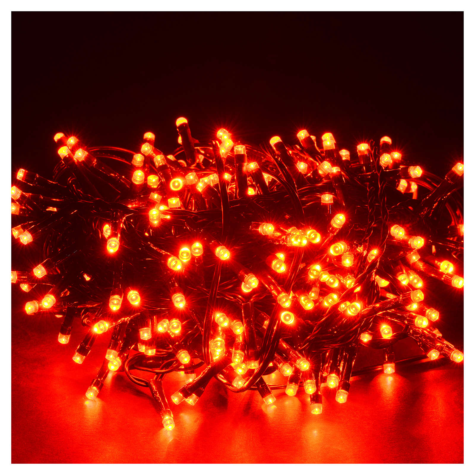 Luce di Natale 300 led programmabili rosse interno/esterno 3