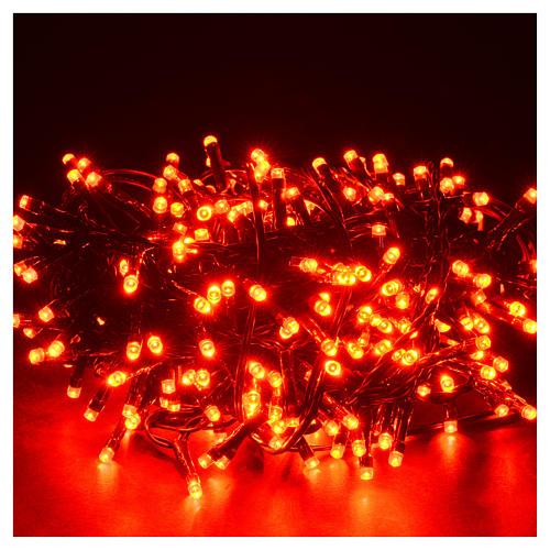Luce di Natale 300 led programmabili rosse interno/esterno 2