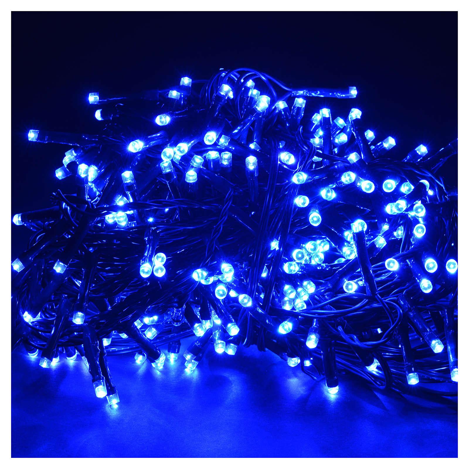 Christmas lights 300 LED lights, blue for indoor/outdoor use, pr 3