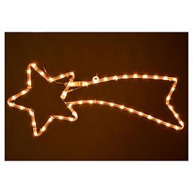 Stella cometa luminosa lampada bianco chiaro esterno s2