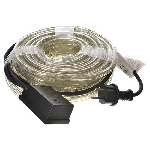 Éclairage Noël tube led 15 m blanc froid programmable int/ext 3