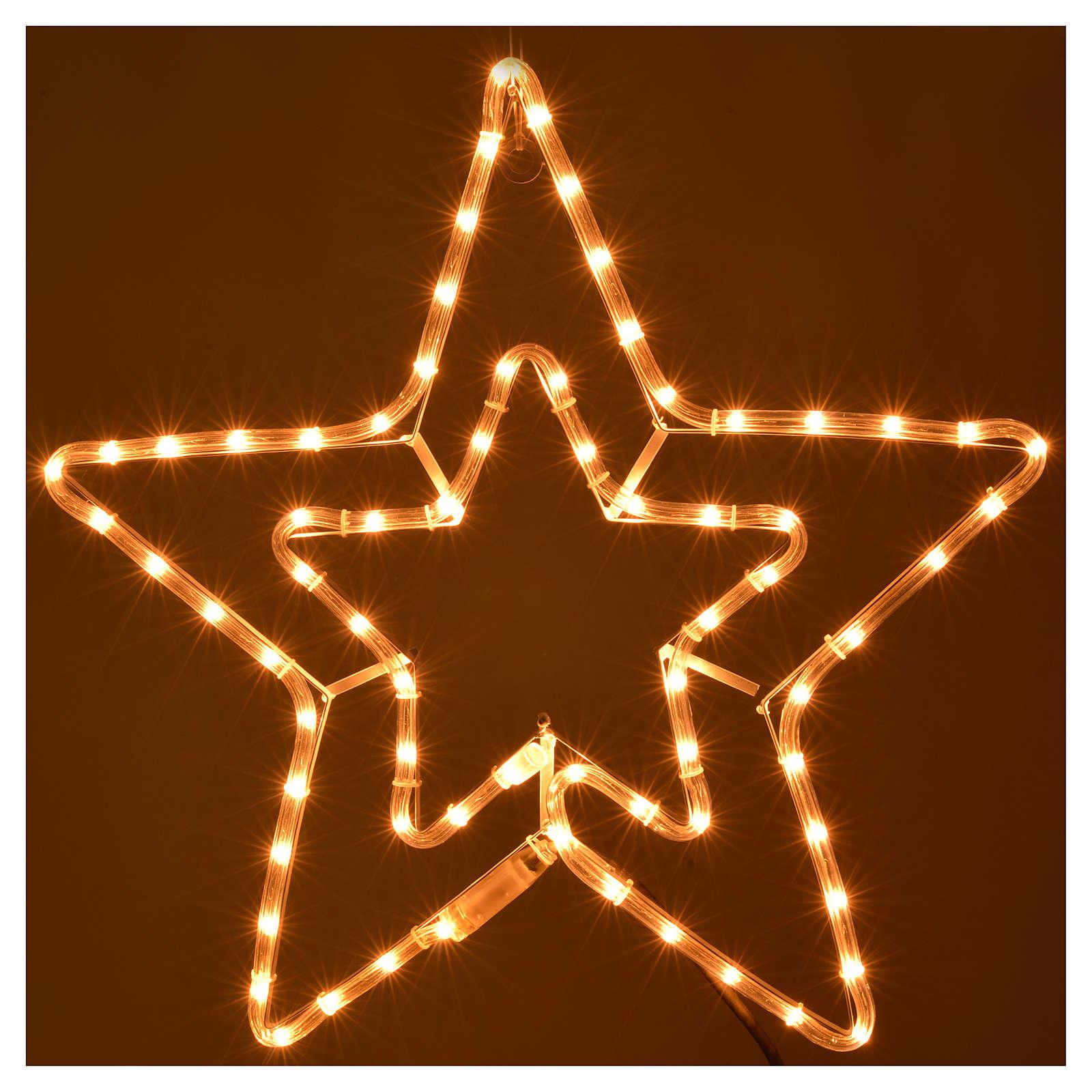 Stella doppia luminosa esterno luce chiara 3