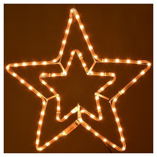 Stella doppia luminosa esterno luce chiara 2