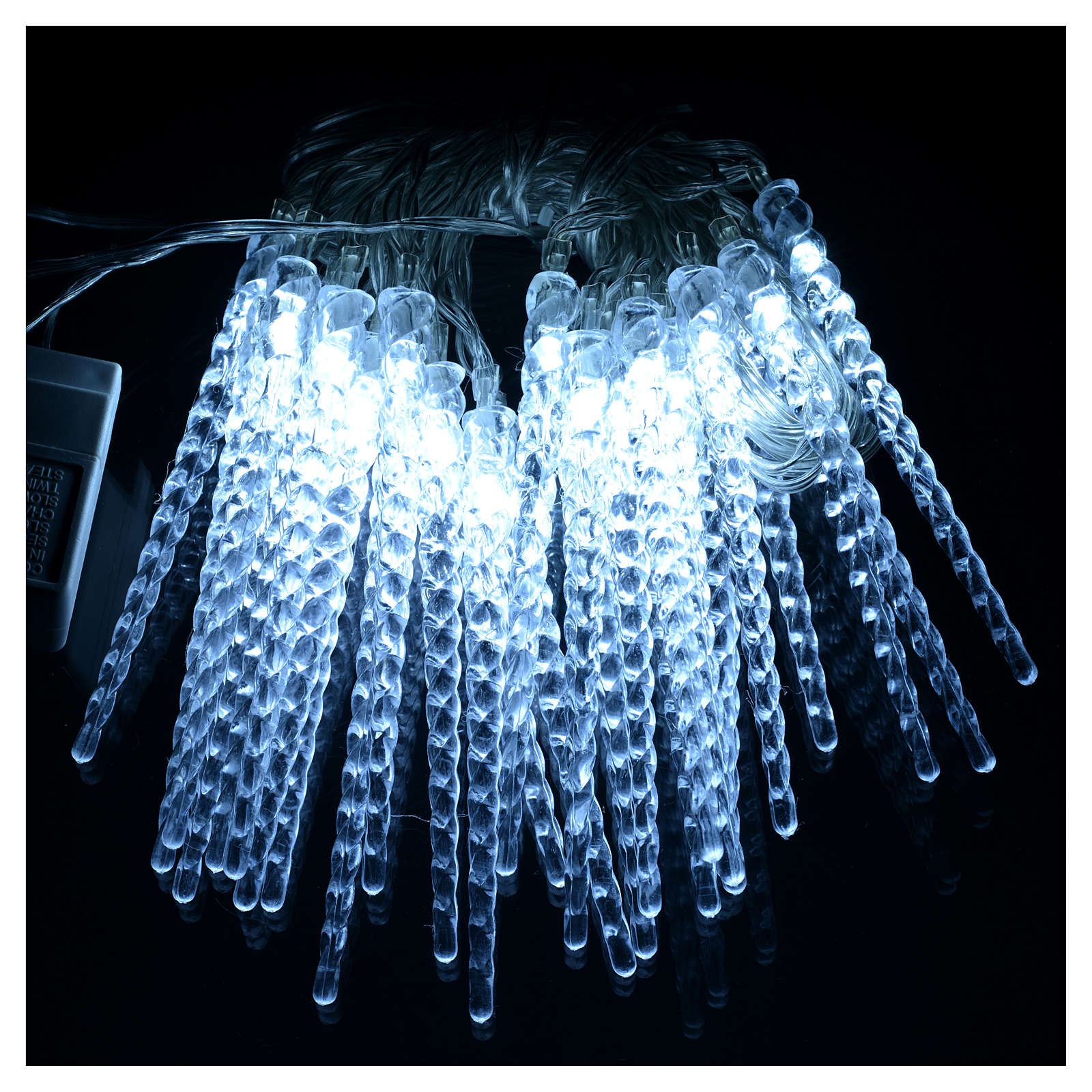 christmas lights 24 led icicles programmable indooroutdoor use 3