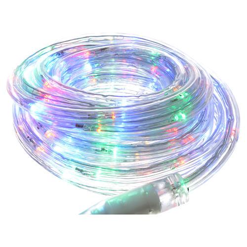 Luce di Natale tubo led 6mt programmabile int est 1