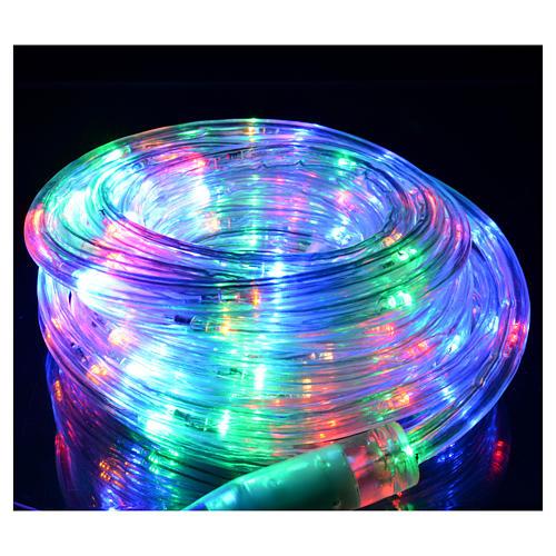 Luce di Natale tubo led 6mt programmabile int est 2