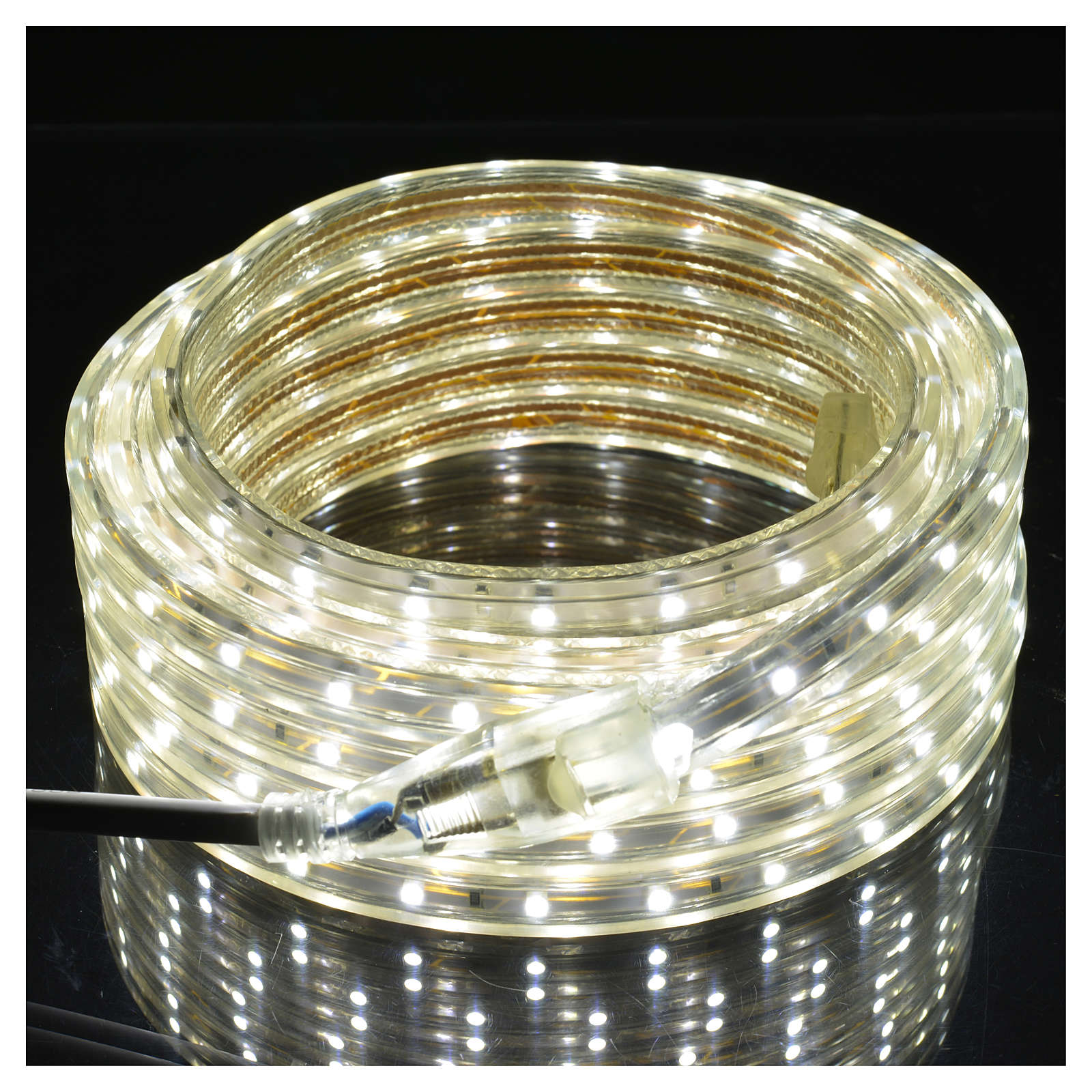 Fairy lights slim strip with 300 ice white LED for indoor/outdoor use 3