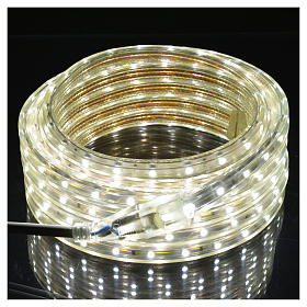 Fairy lights slim strip with 300 ice white LED for indoor/outdoor use s2