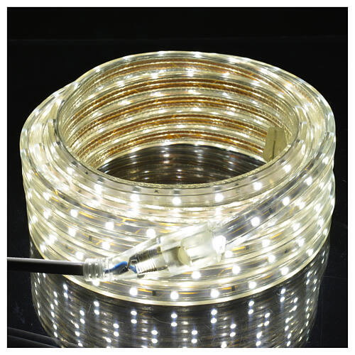 Fairy lights slim strip with 300 ice white LED for indoor/outdoor use 1