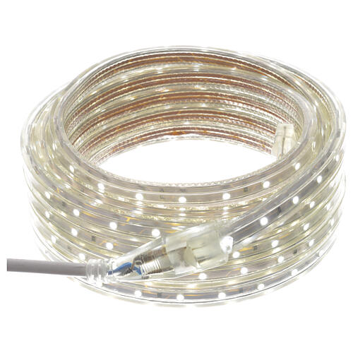 Fairy lights slim strip with 300 ice white LED for indoor/outdoor use 2