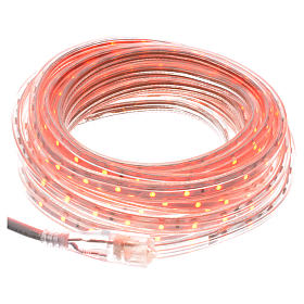 Luce di Natale tubo slim 300 led int rosso s1
