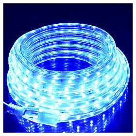 Manguera delgada luces de Navidad 300 LED azules para interior s2