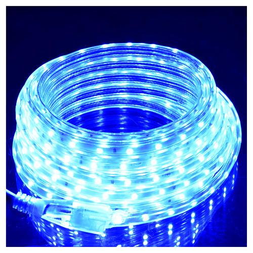 Manguera delgada luces de Navidad 300 LED azules para interior 2