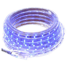 Fairy lights slim strip with 300 blue LED for indoor use s1