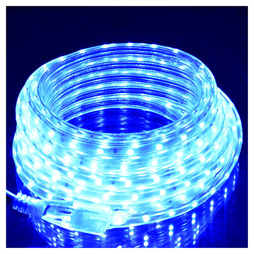 Fairy lights slim strip with 300 blue LED for indoor use 2