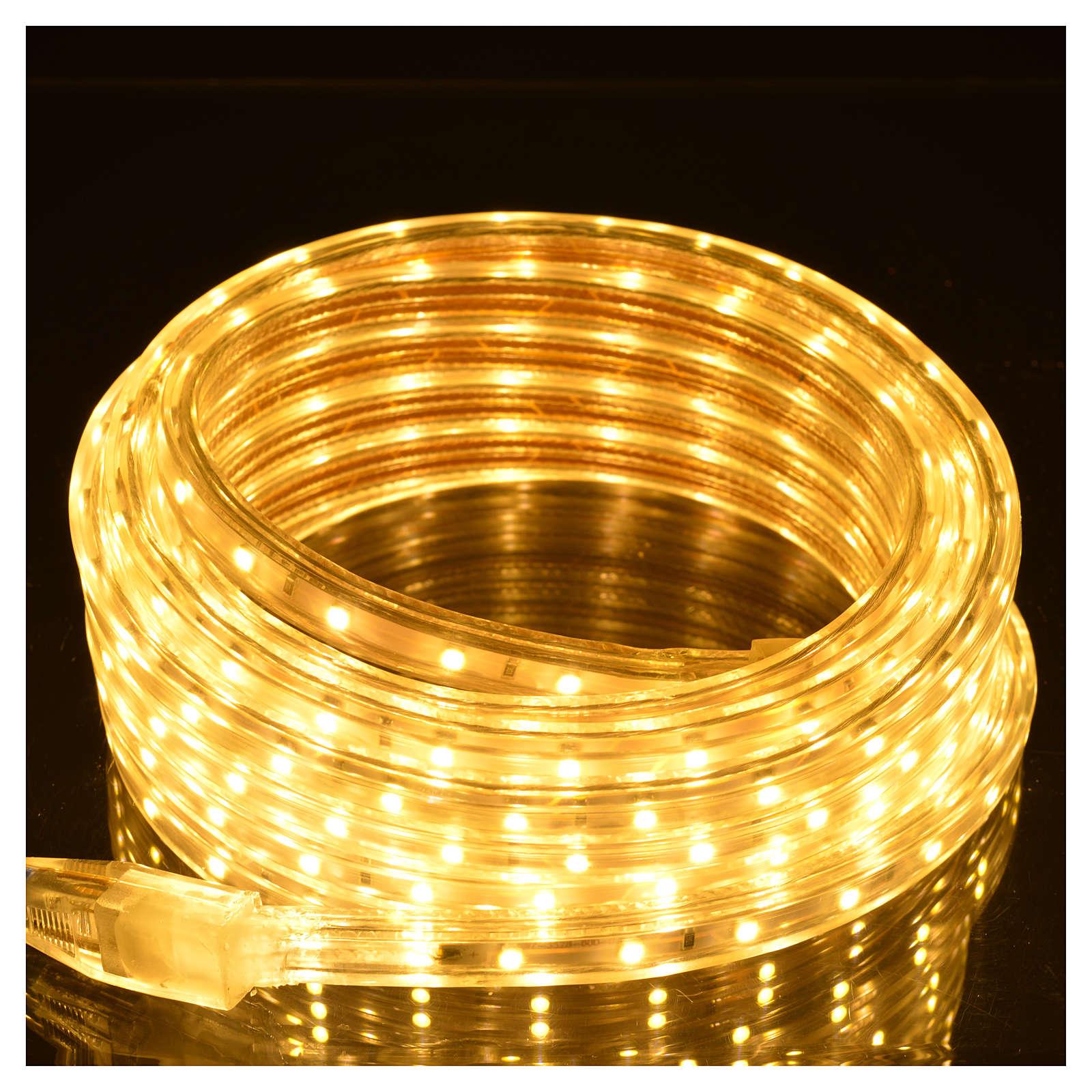 Lampki choinkowe tubo 300 led kolor biały ciepły 3
