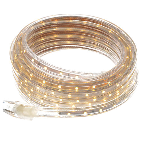 Fairy lights slim strip with 300 warm white LED for indoor use 1