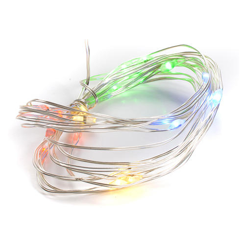 Christmas lights 20 LED multicolor for indoors 1