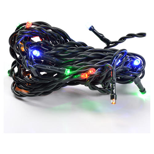 Christmas lights 20 small led multicolor indoors 1
