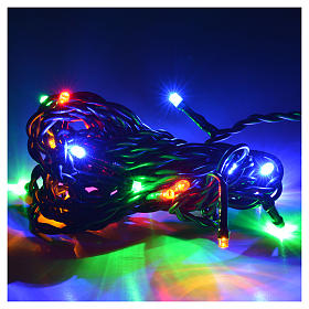 Christmas lights 20 small led multicolor indoors s2