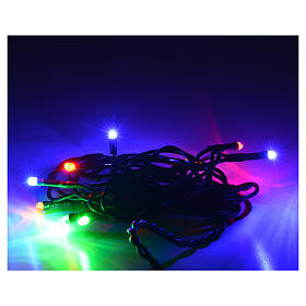 Christmas lights 10 small led multicolor indoors s2