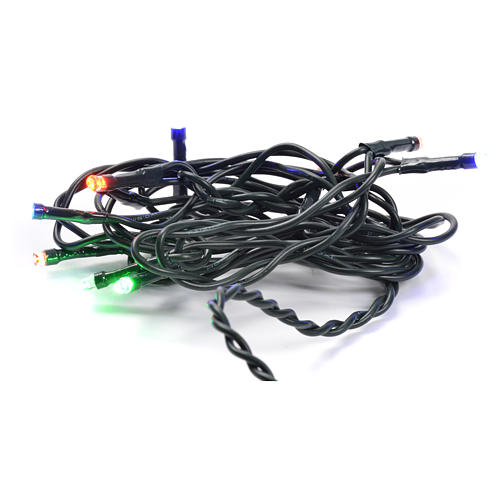 Christmas lights 10 small led multicolor indoors 1