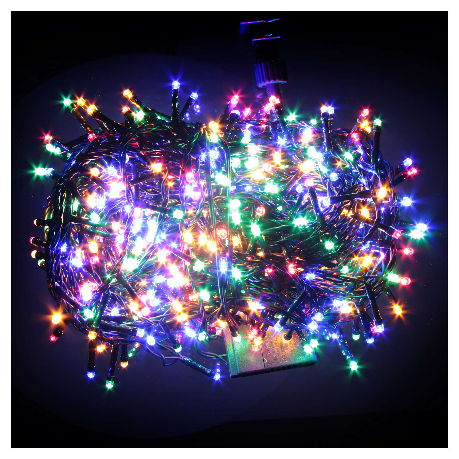 christmas lights 600 multicoloured led programmable for outdoor use 3
