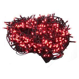 Luce Natale catena 600 LED rosse ESTERNO programmabili s1