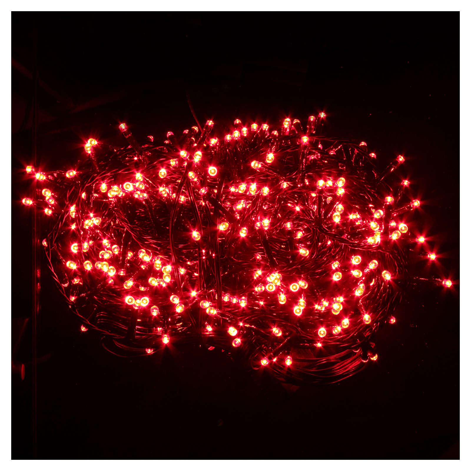 christmas lights 600 red led programmable for outdoor use 3