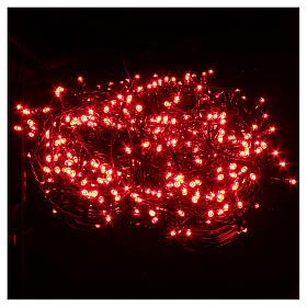 Éclairage Noël chaîne 1000 LEDS rouges EXTÉRIEUR programmable s2