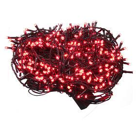 Luce Natale catena 1000 LED rosso ESTERNO programmabili s1