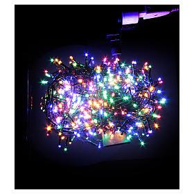 Éclairage Noël chaîne 1000 LEDS multicolores EXTÉRIEUR programmable s2