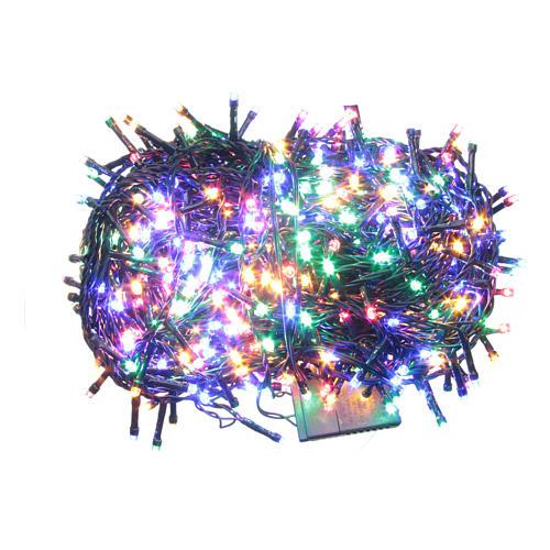 Éclairage Noël chaîne 1000 LEDS multicolores EXTÉRIEUR programmable 1