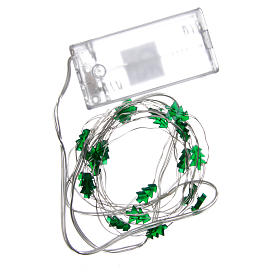 Fairy lights: 20 green LED lights, for indoor use s4