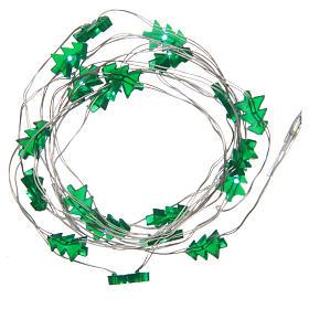 Guirlandes lumineuses de Noël: Guirlande de Noël fil nu 20 leds vert intérieur