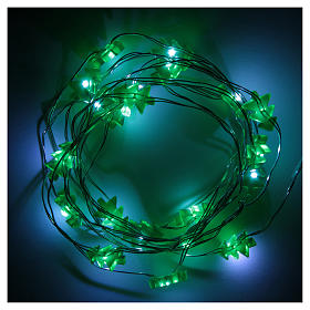 Fairy lights: 20 green LED lights, for indoor use s3