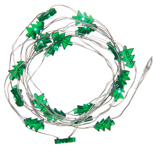 Fairy lights: 20 green LED lights, for indoor use 1