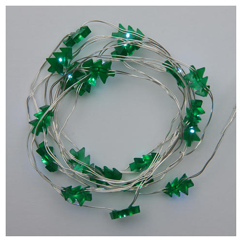 Fairy lights: 20 green LED lights, for indoor use 2