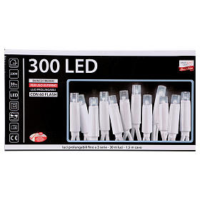 Fairy lights 300 LED, cold white, for outdoor use s5