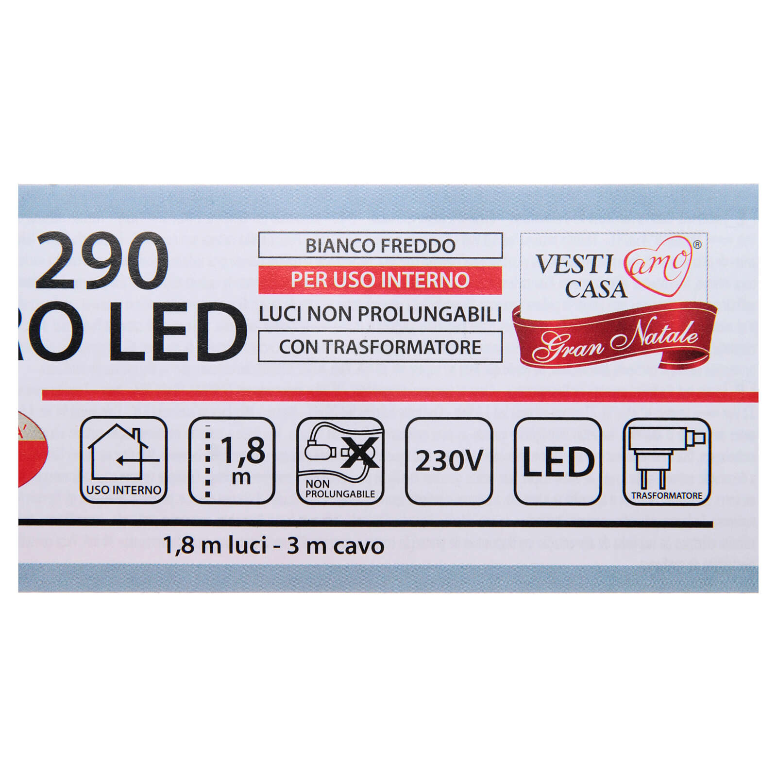 Guirlande lumineuse branches 290 microleds blanc froid INTÉRIEUR 3
