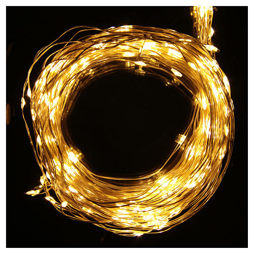 Christmas Lights: branches with 290 micro LED, warm white, indoor use 2