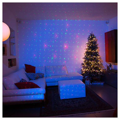 christmas lights laser projector for interiors with christmas decorations 1