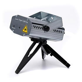 Projecteur laser pour intérieur points en mouvement coeurs vert rouge s4